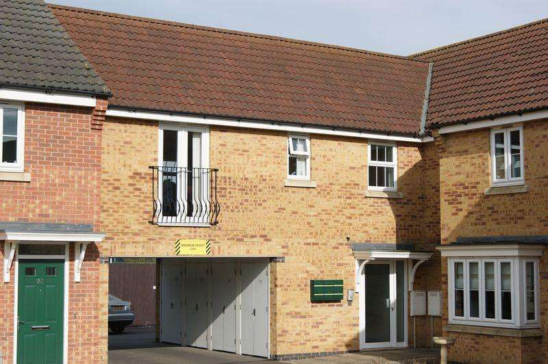 1 Bedroom Apartment Flat for sale in Mayflower Mews, Grantham