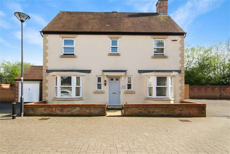 4 Bedrooms Detached House for sale in Spode Close, Braydon Mead, Wiltshire