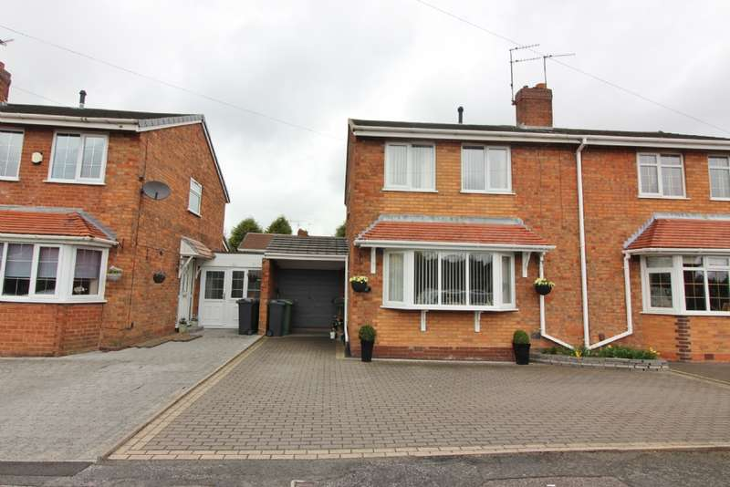 3 Bedrooms Semi Detached House for sale in Lichfield Rd, New Invention