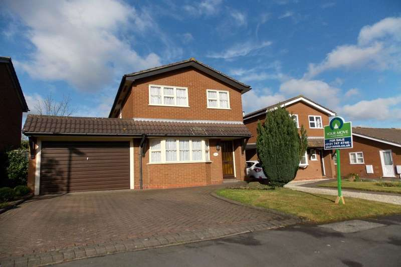 3 Bedrooms Detached House for sale in Rose Hill Close, Castle Bromwich, Birmingham, B36