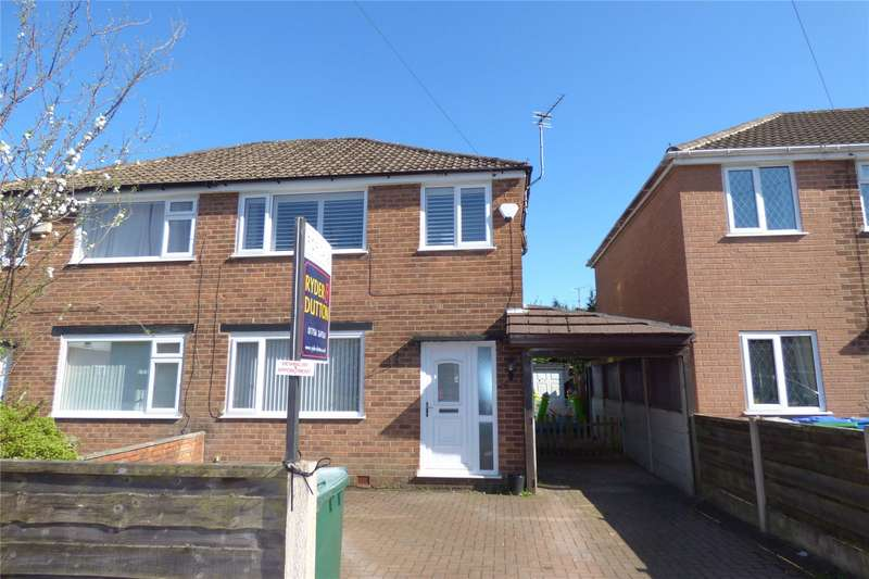 3 Bedrooms Semi Detached House for sale in Wilson Avenue, Summit, Heywood, Lancashire, OL10
