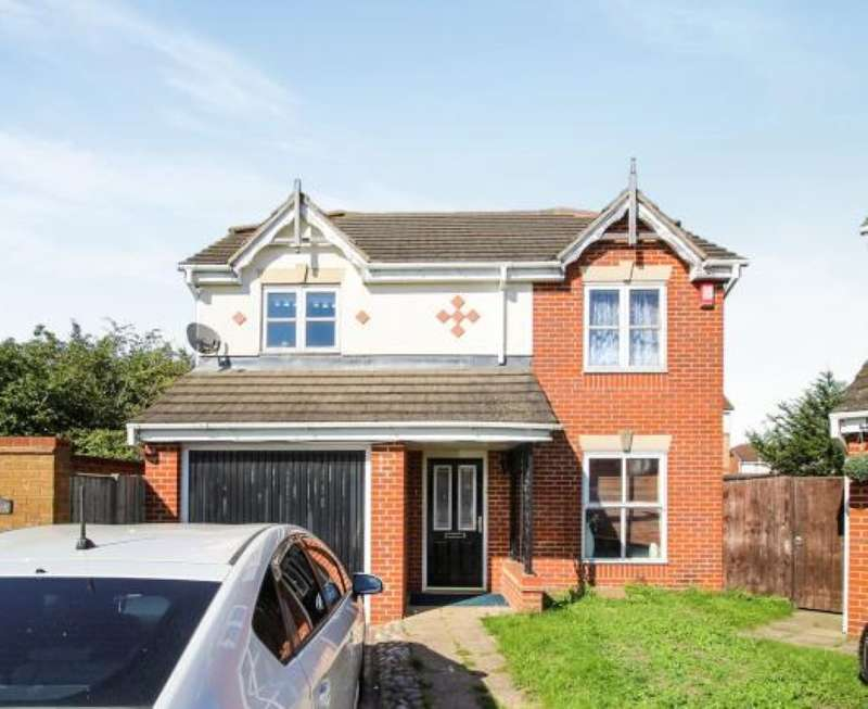 4 Bedrooms Detached House for sale in Neptune Close, South Hornchurch, Rainham, Essex, RM13 8SY