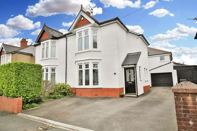 5 Bedrooms Semi Detached House for sale in Foreland Road, Whitchurch, Cardiff