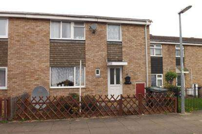 3 Bedrooms Terraced House for sale in Sandon Close, Sandy, Bedfordshire
