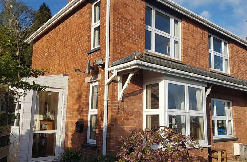 3 Bedrooms Semi Detached House for sale in Southernhay, Newton Abbot