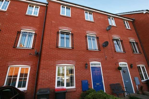 4 Bedrooms Town House for sale in Merevale Road, Atherstone, Warwickshire, CV9 2PR
