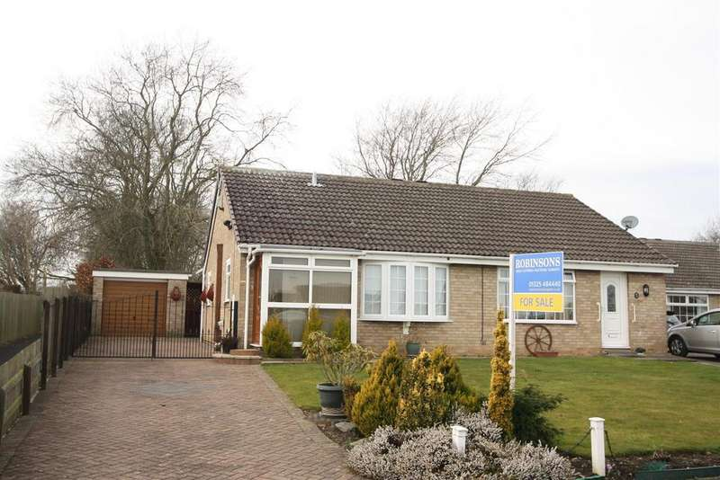 2 Bedrooms Semi Detached Bungalow for sale in Galloway, Darlington