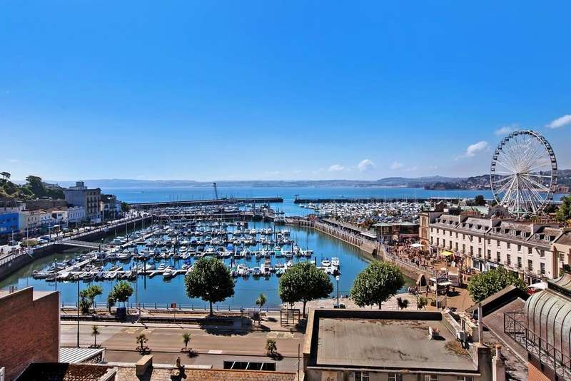 3 Bedrooms Apartment Flat for sale in The Terrace, Torquay