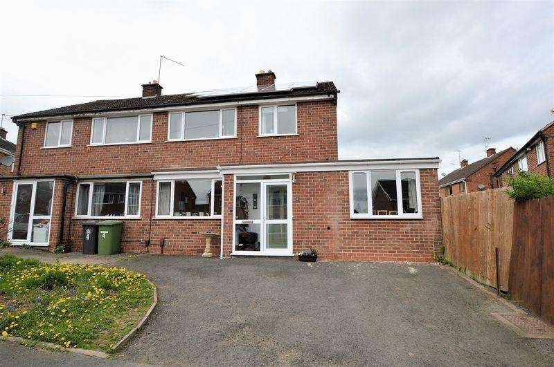 3 Bedrooms Semi Detached House for sale in Lansdowne Crescent * Studley * B80 7RJ