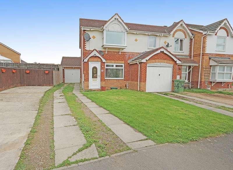 2 Bedrooms Semi Detached House for sale in Cennon Grove, Ingleby Barwick TS17
