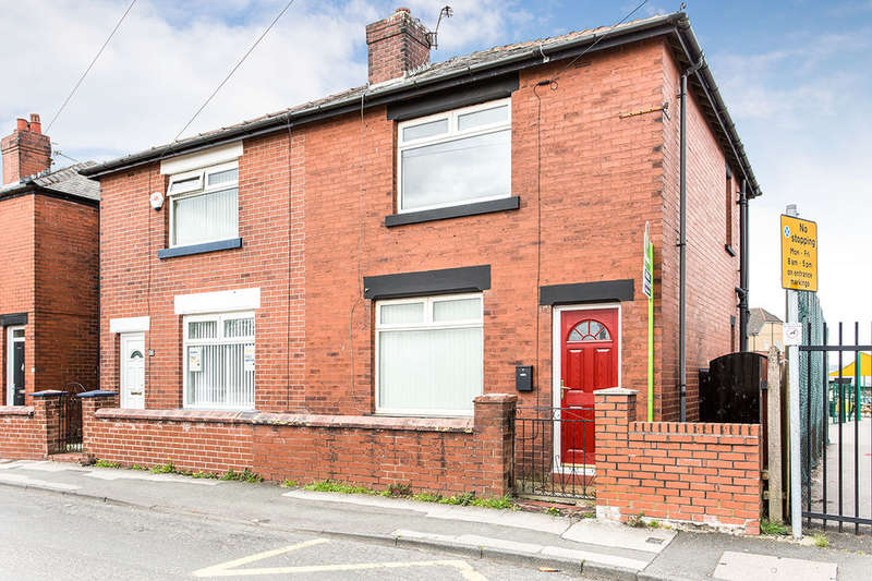 2 Bedrooms Semi Detached House for sale in Church Road, Kearsley, Bolton, BL4