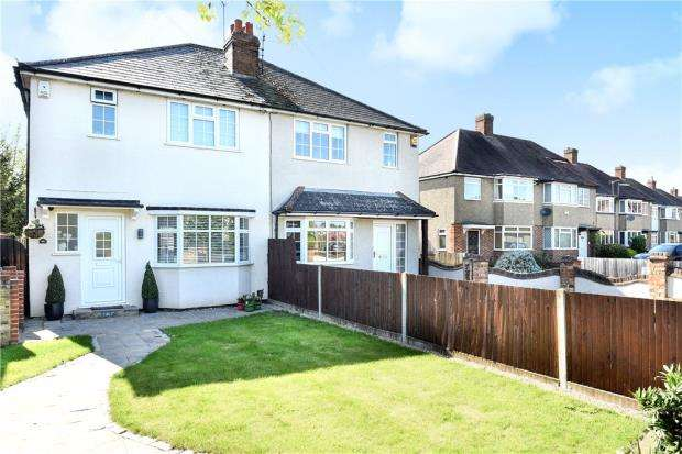 3 Bedrooms Semi Detached House for sale in Straight Road, Old Windsor, Windsor