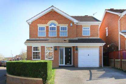 4 Bedrooms Detached House for sale in John Hibbard Crescent, Sheffield, South Yorkshire
