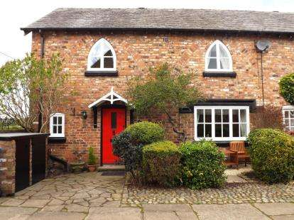 3 Bedrooms Barn Conversion Character Property for sale in New Farm Cottage, Glazebrook Lane, Glazebrook, Warrington
