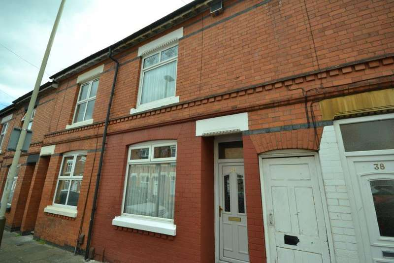 3 Bedrooms Terraced House for sale in Lyme Road, Leicester