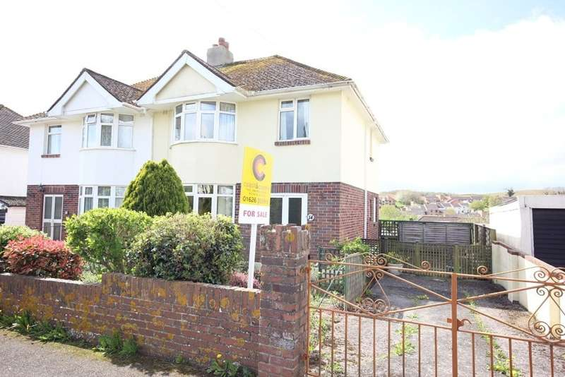 3 Bedrooms Semi Detached House for sale in Applegarth Avenue, Newton Abbot