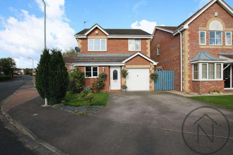 3 Bedrooms Detached House for sale in Cheltenham Way, Newton Aycliffe