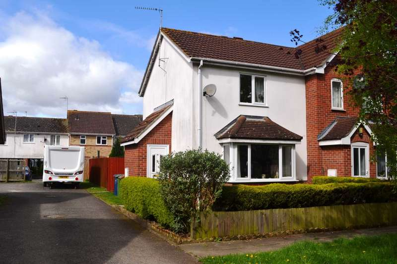 2 Bedrooms End Of Terrace House for sale in Kingfisher Drive, Wisbech
