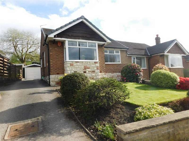 3 Bedrooms Semi Detached Bungalow for sale in Oxford Drive, Woodley, Stockport