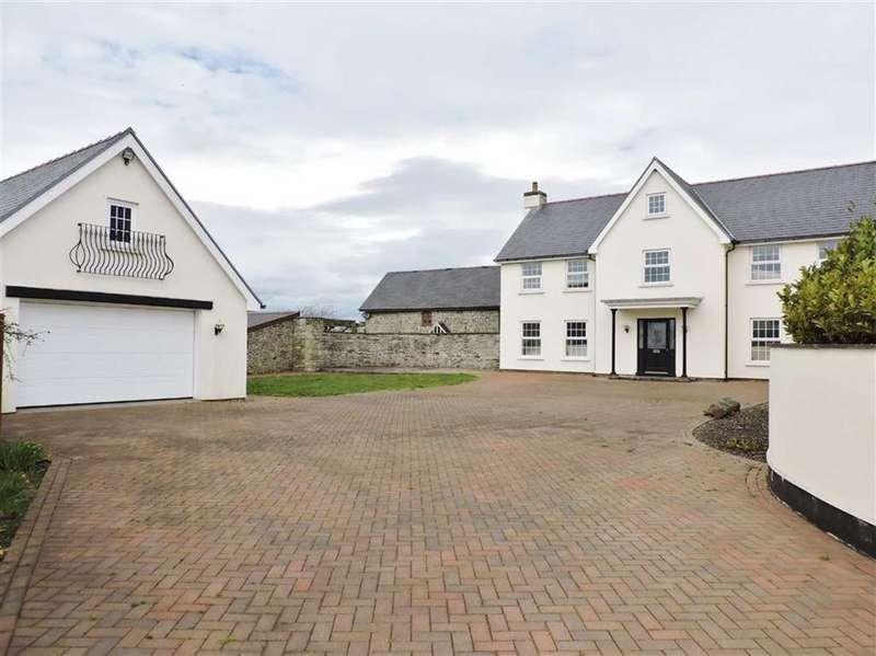 4 Bedrooms Detached House for sale in Eglwys Nunnydd, Eglwys Nunnydd, Margam
