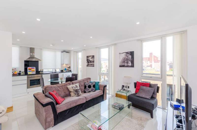 2 Bedrooms Flat for sale in Churchway, Euston, NW1