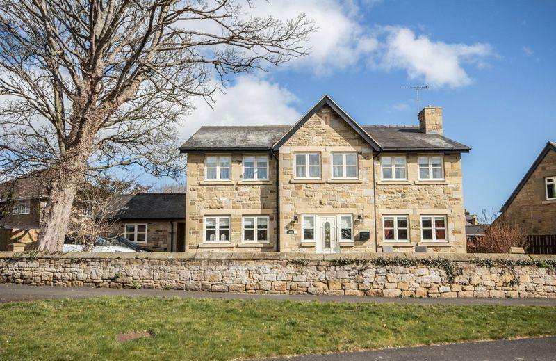 4 Bedrooms Detached House for sale in Lesbury, Alnwick