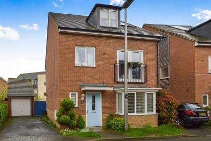 4 Bedrooms Detached House for sale in Hythe Way, Broughton, Milton Keynes, Buckinghamshire