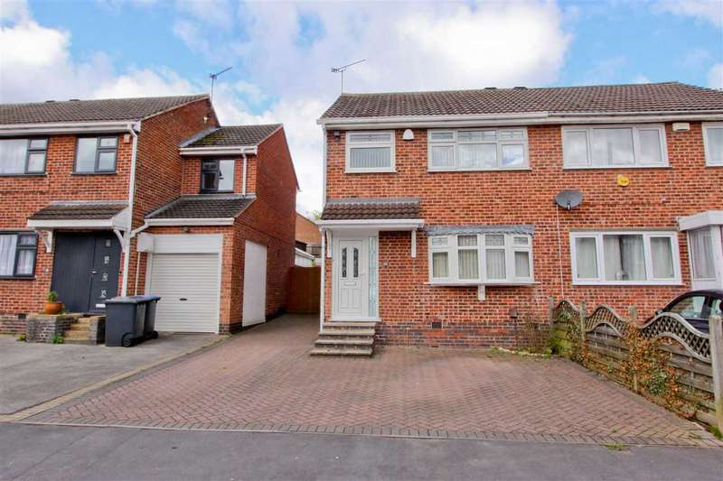 3 Bedrooms Semi Detached House for rent in Farr Wood Close, Groby, Leicester