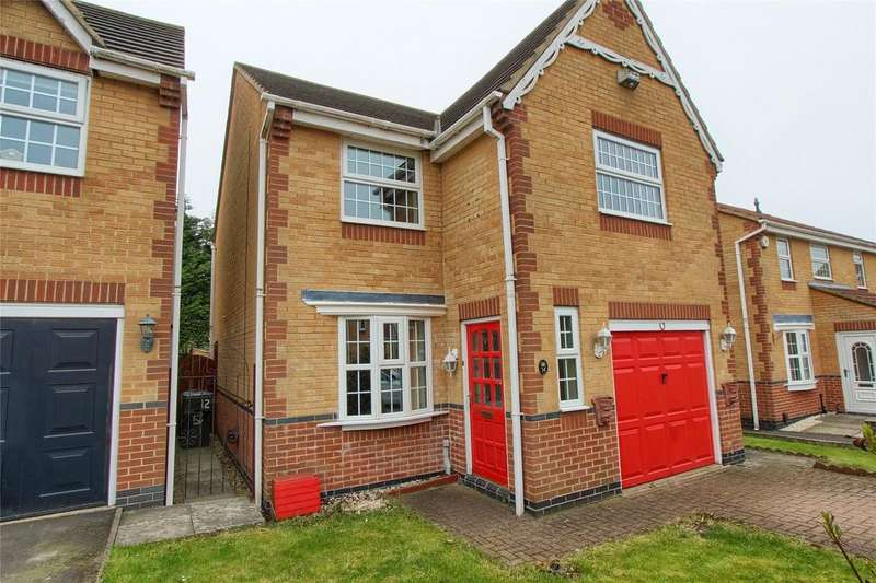 3 Bedrooms Detached House for sale in Blackthorn, Coulby Newham