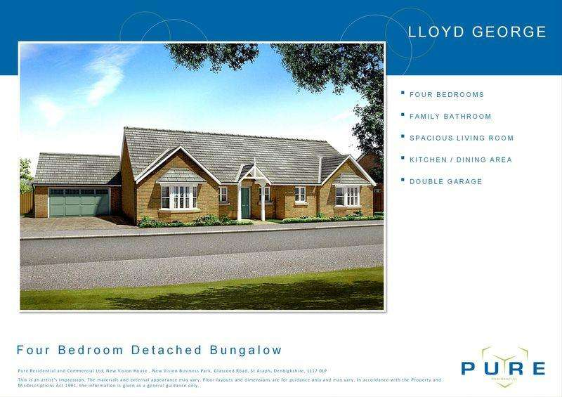 4 Bedrooms Bungalow for sale in Upper Denbigh Road, St. Asaph