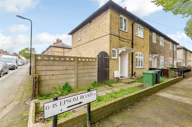 3 Bedrooms End Of Terrace House for sale in Epsom Road, London