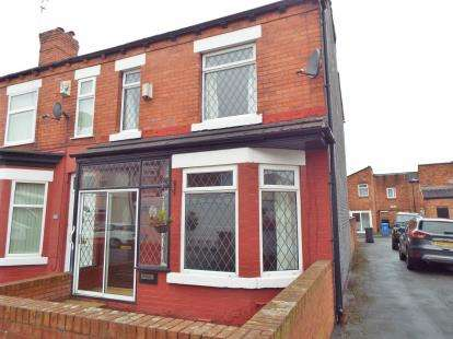 3 Bedrooms End Of Terrace House for sale in Pickmere Street, Warrington, Cheshire