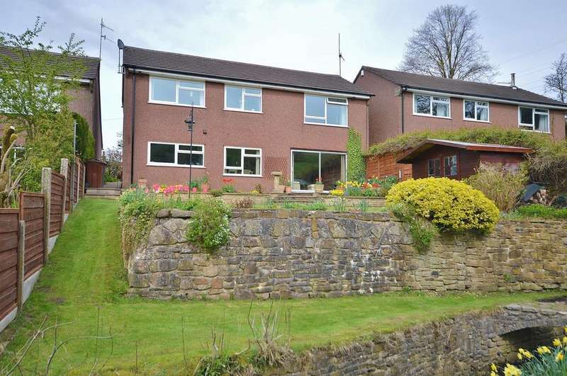 4 Bedrooms Detached House for sale in Laneside Road, New Mills, High Peak