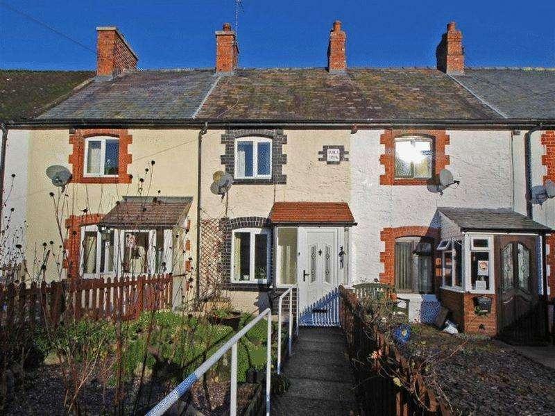 2 Bedrooms Terraced House for rent in Maybury Avenue, Glyn Ceiriog, Nr Llangollen
