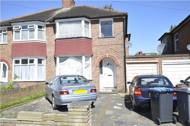 3 Bedrooms Semi Detached House for sale in Tintern Avenue, LONDON, NW9 0RJ