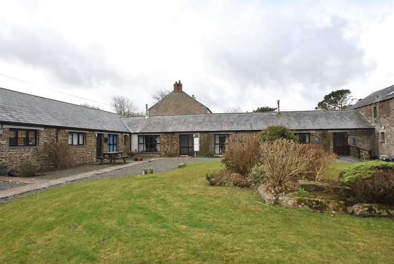 2 Bedrooms Semi Detached House for sale in Higher Crackington, Bude