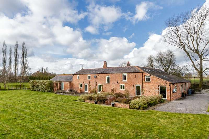 5 Bedrooms Barn Conversion Character Property for sale in Baddiley, Cheshire
