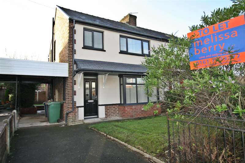 3 Bedrooms Semi Detached House for rent in Lilac Grove, Prestwich