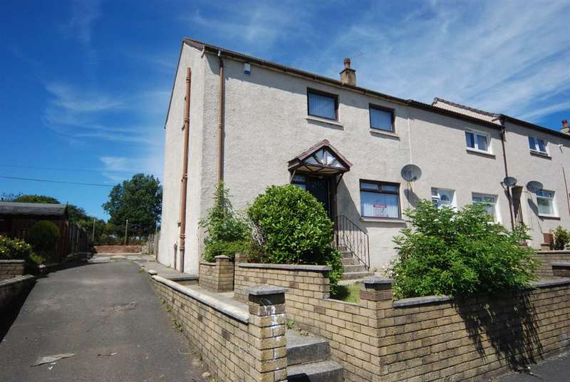 3 Bedrooms End Of Terrace House for sale in Hyslop Road, Stevenston