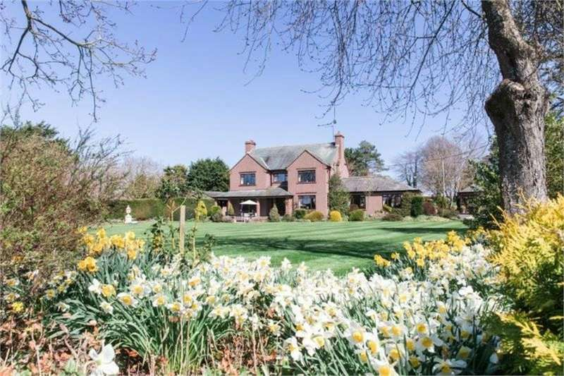 4 Bedrooms Detached House for sale in Pembroke House, Brougham, Penrith, Cumbria