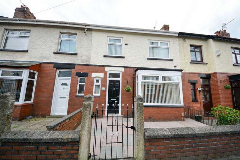 3 Bedrooms Terraced House for sale in Moore Street East, Whelley, Wigan, WN1