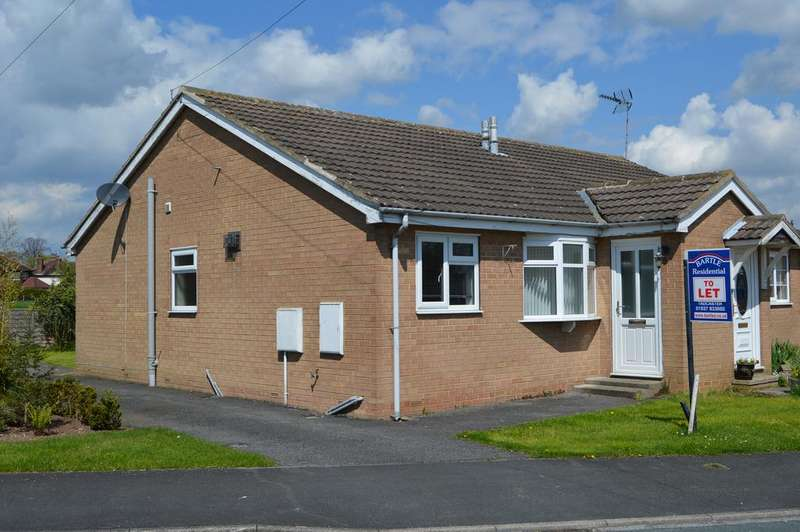 2 Bedrooms Semi Detached Bungalow for rent in Hillcrest Court, Tadcaster LS24