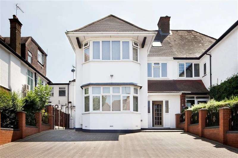 5 Bedrooms Semi Detached House for sale in Gresham Gardens, Golders Green, NW11
