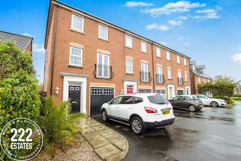 3 Bedrooms Town House for sale in Chicago Place, Great Sankey, Warrington, WA5