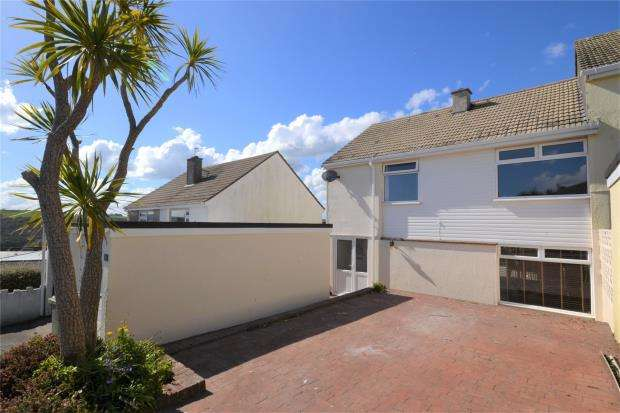 3 Bedrooms End Of Terrace House for sale in Trenant Road, Looe, Cornwall