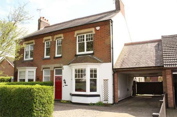 4 Bedrooms Semi Detached House for sale in Dunton Bassett