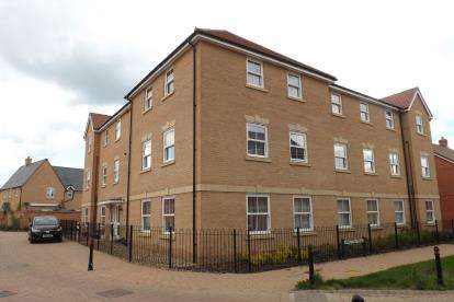 2 Bedrooms Flat for sale in Sanger Avenue, Biggleswade, Bedfordshire