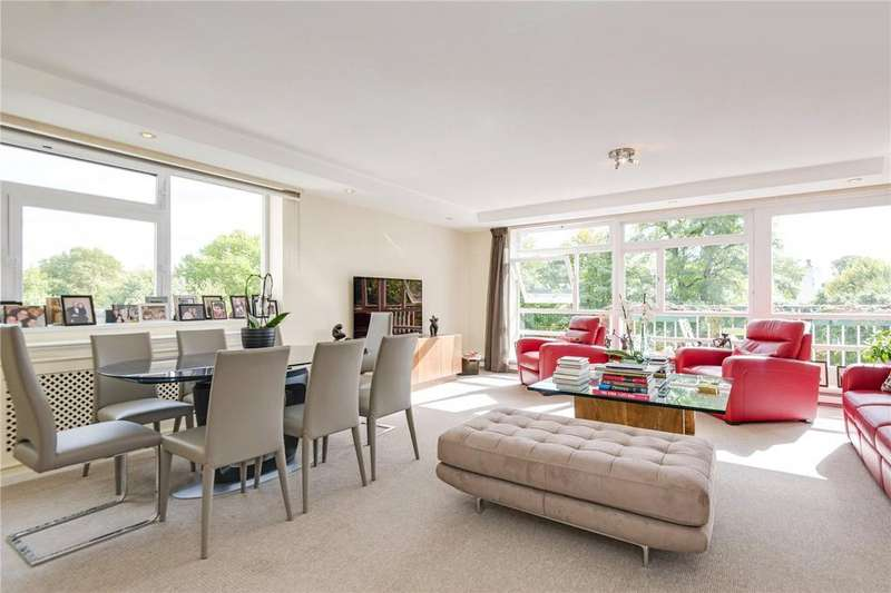3 Bedrooms Flat for sale in Walsingham, Queensmead, St John's Wood, London, NW8