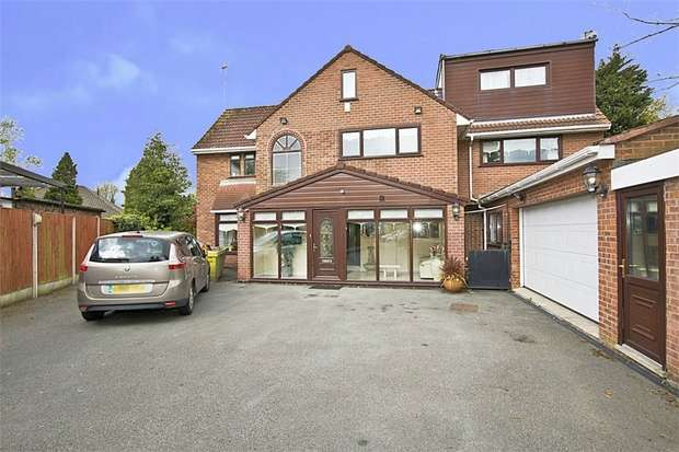 5 Bedrooms Detached House for sale in Roby Mount Avenue, Liverpool, Merseyside