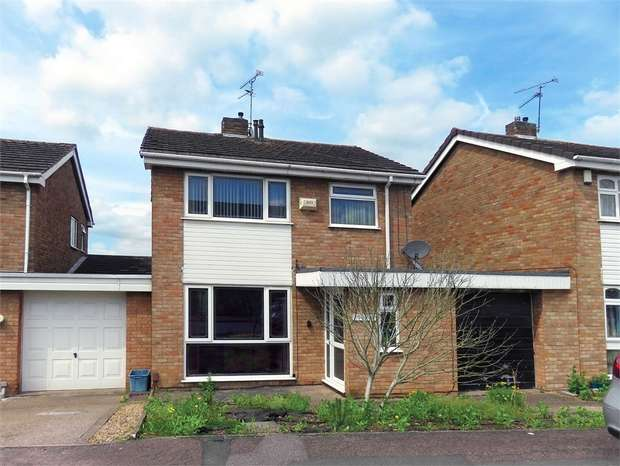 3 Bedrooms Link Detached House for sale in Colebrook Close, Leicester